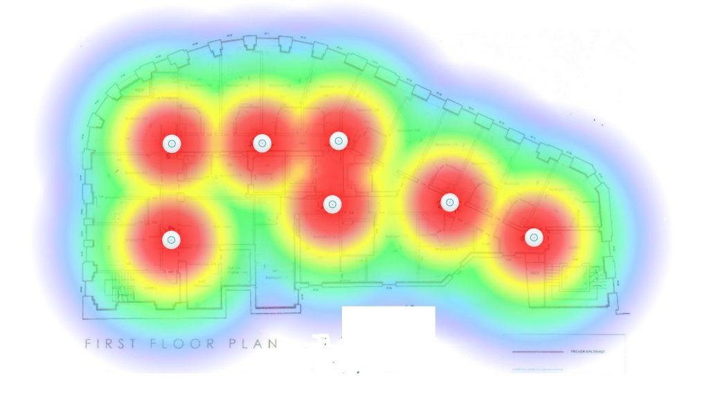 WiFi Installation heat maps